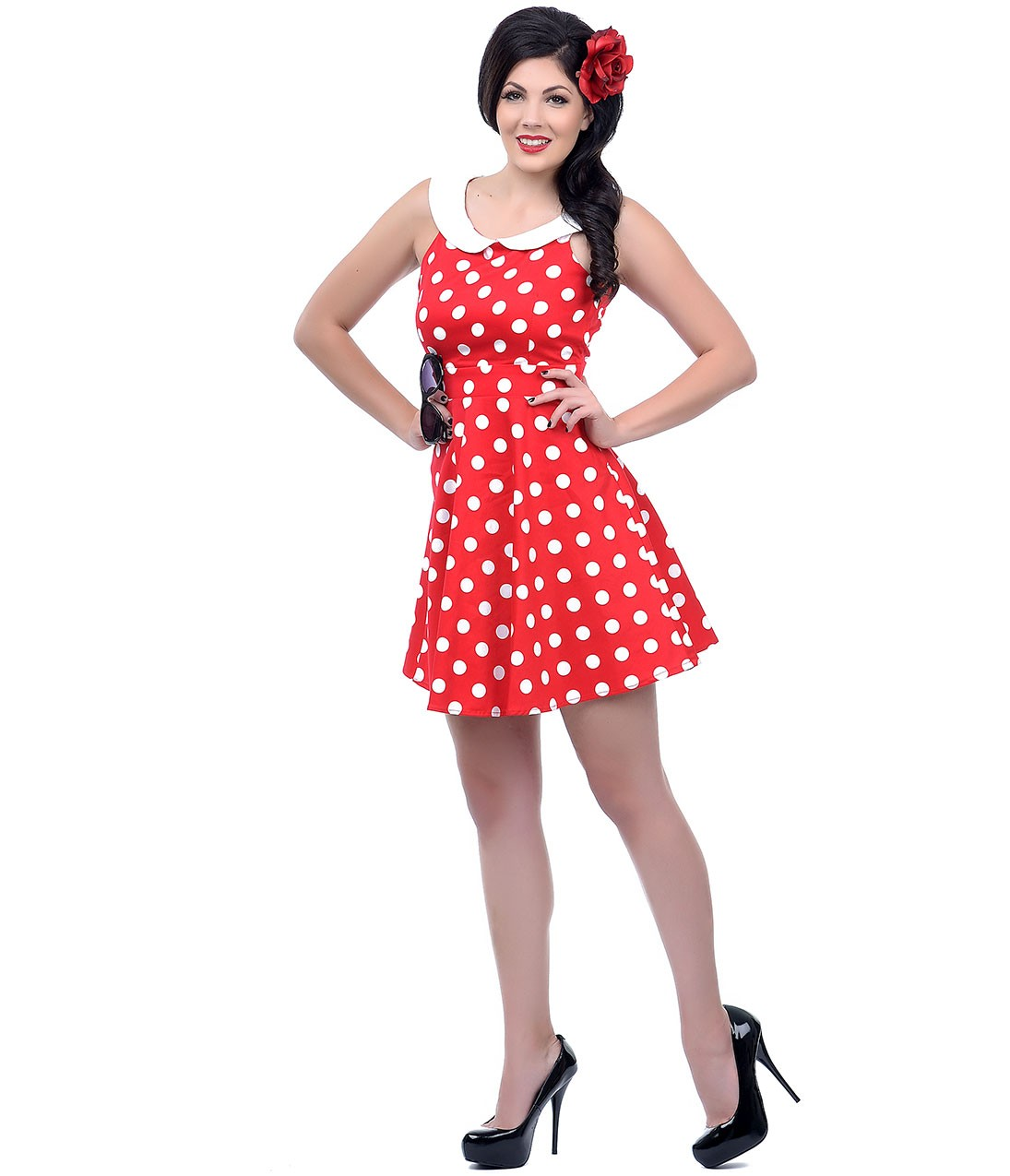 Red Polka Dot Dress Picture Collection Dressedupgirl Com