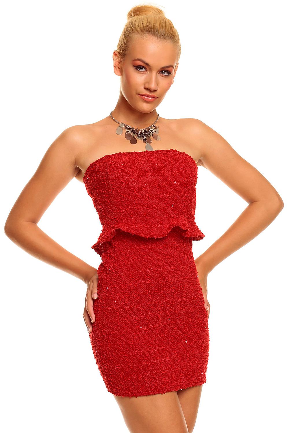 red mini dress dressed up girl. Black Bedroom Furniture Sets. Home Design Ideas