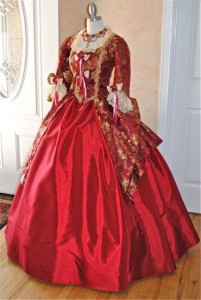 Red Victorian Dress