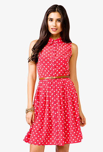 Red Polka Dot Dress Picture Collection Dressedupgirl Com
