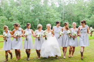 Seersucker Bridesmaid Dresses