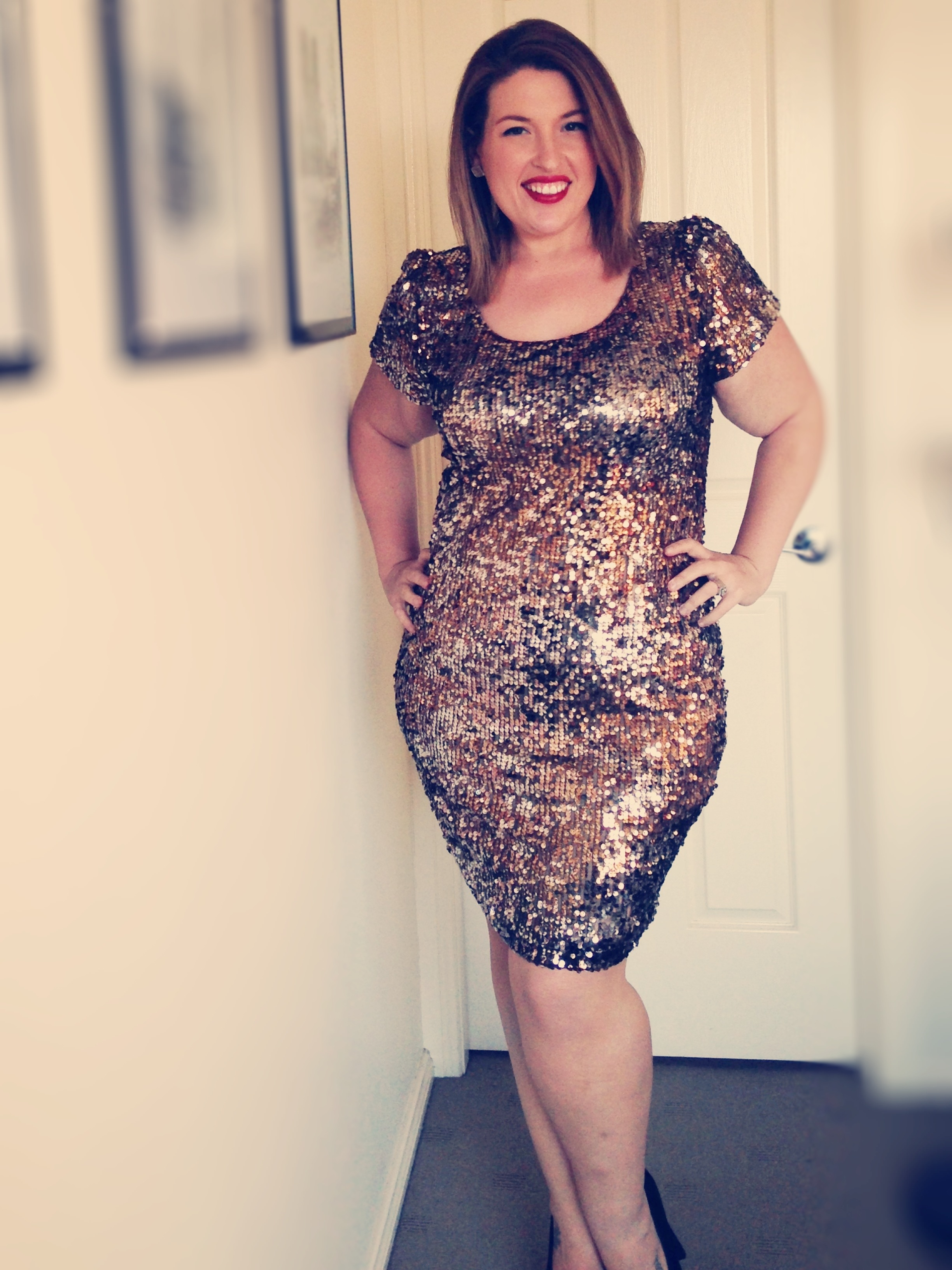 Plus Size Sequin Dress  Dressed Up Girl