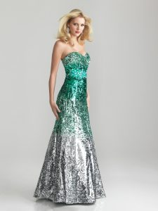 Sequin Mermaid Prom Dress