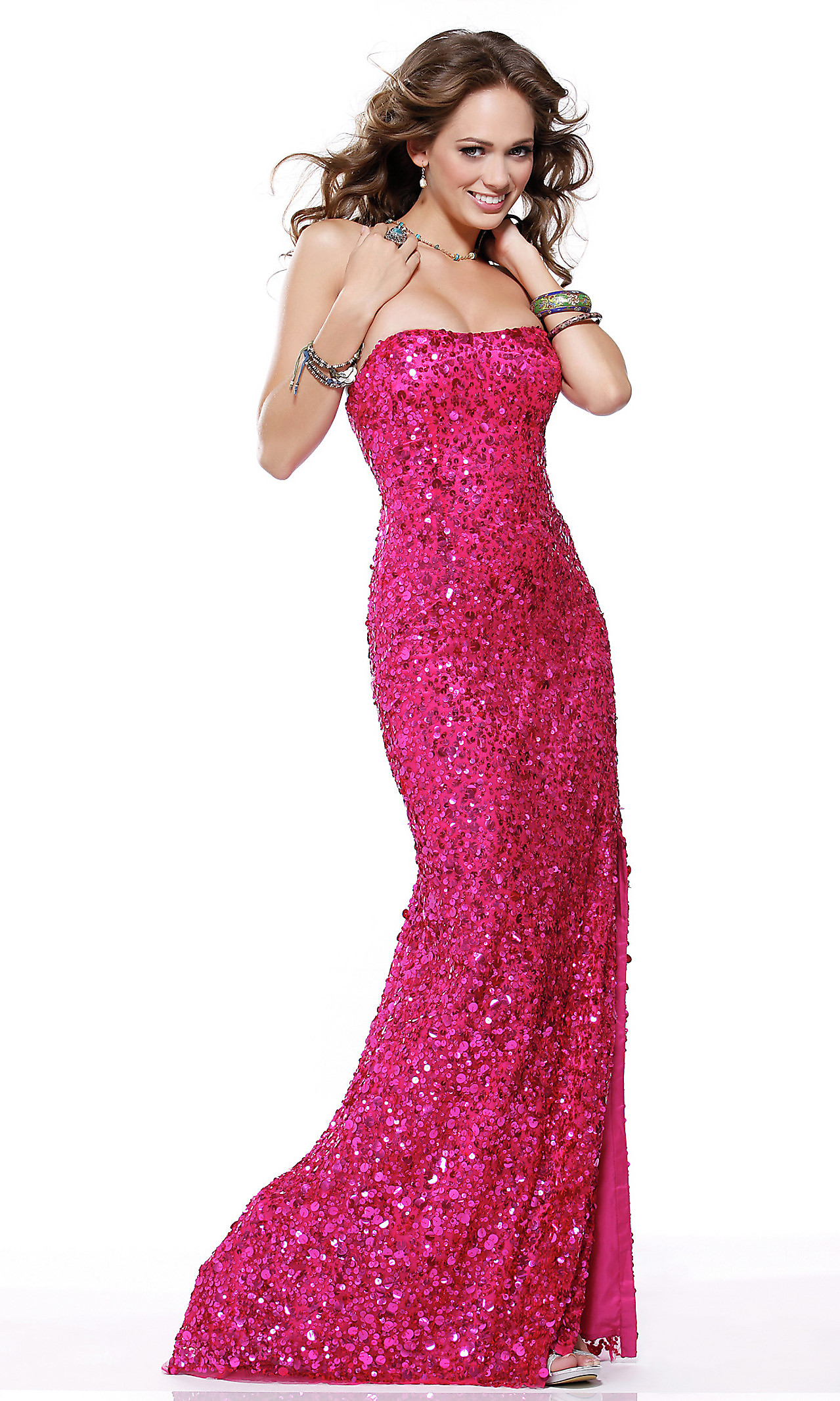 Pink Sequin Dress - Dressed Up Girl