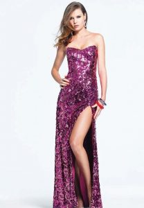 Sequin Prom Dresses Long