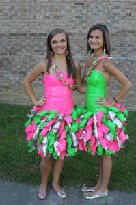 Simple Duct Tape Dress
