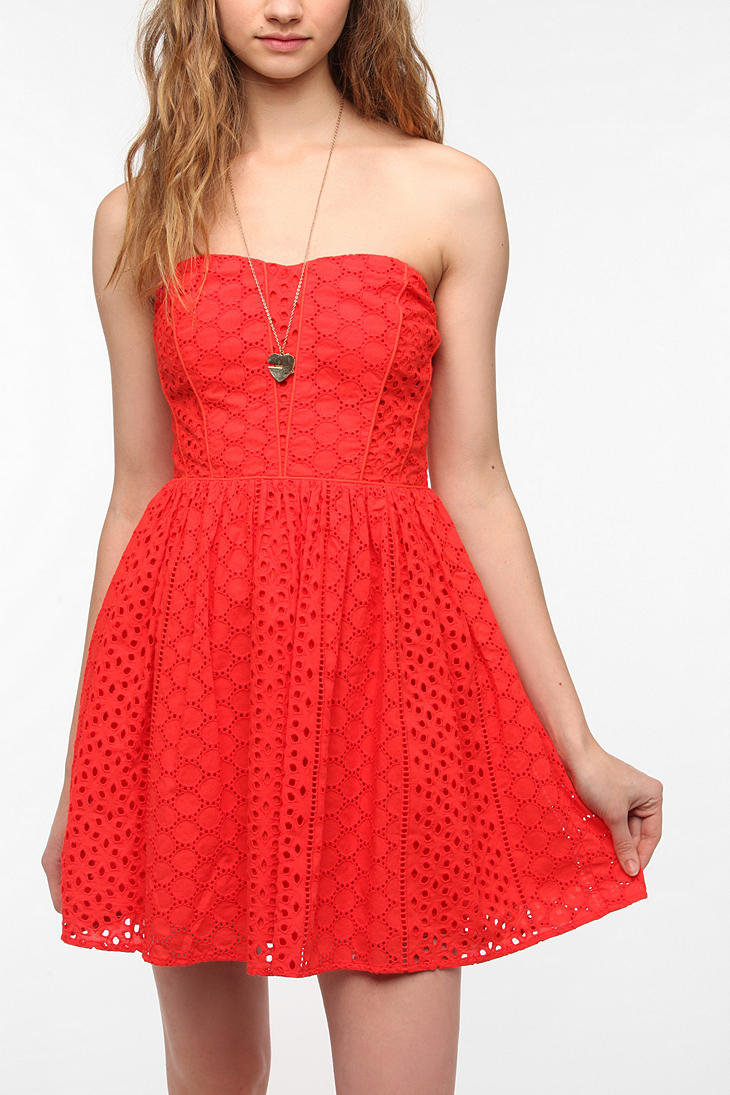 Eyelet Dress | Dressed Up Girl