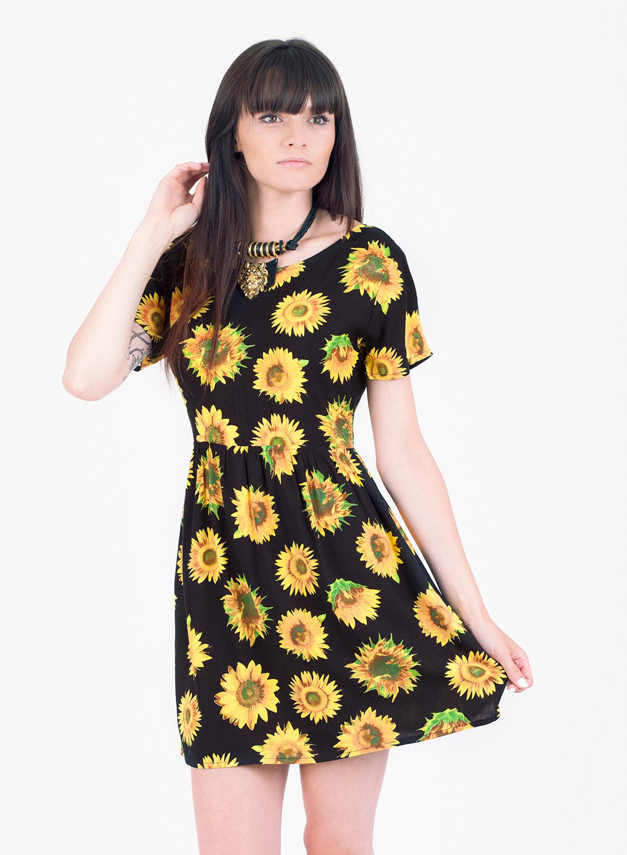 Sunflower Dress Picture Collection Dressedupgirl Com