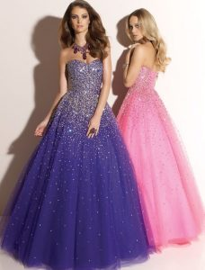 Tulle Prom Dresses