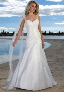 Wedding Dress Beach