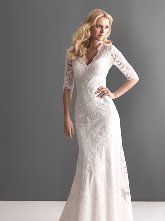Slip Dress Wedding Dresses
