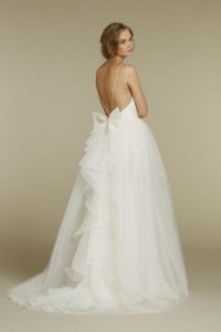 Wedding Dresses with Bow on Back