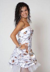 White Camo Dresses