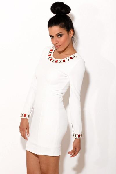 White Mini Dress | Dressed Up Girl