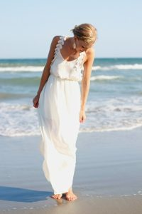 White Maxi Beach Dress
