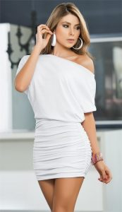 White Mini Dresses