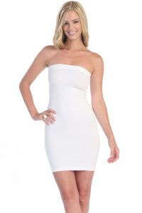 White Tube Dress