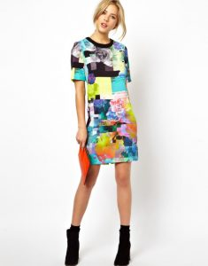 Womens T-Shirt Dress