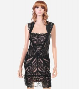 Black Lace Cocktail Dress Images
