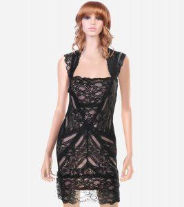 Black Lace Cocktail Dress Images