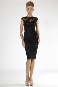 Black Lace Cocktail Dress Photos