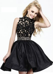 Black Lace Cocktail Dress Pictures