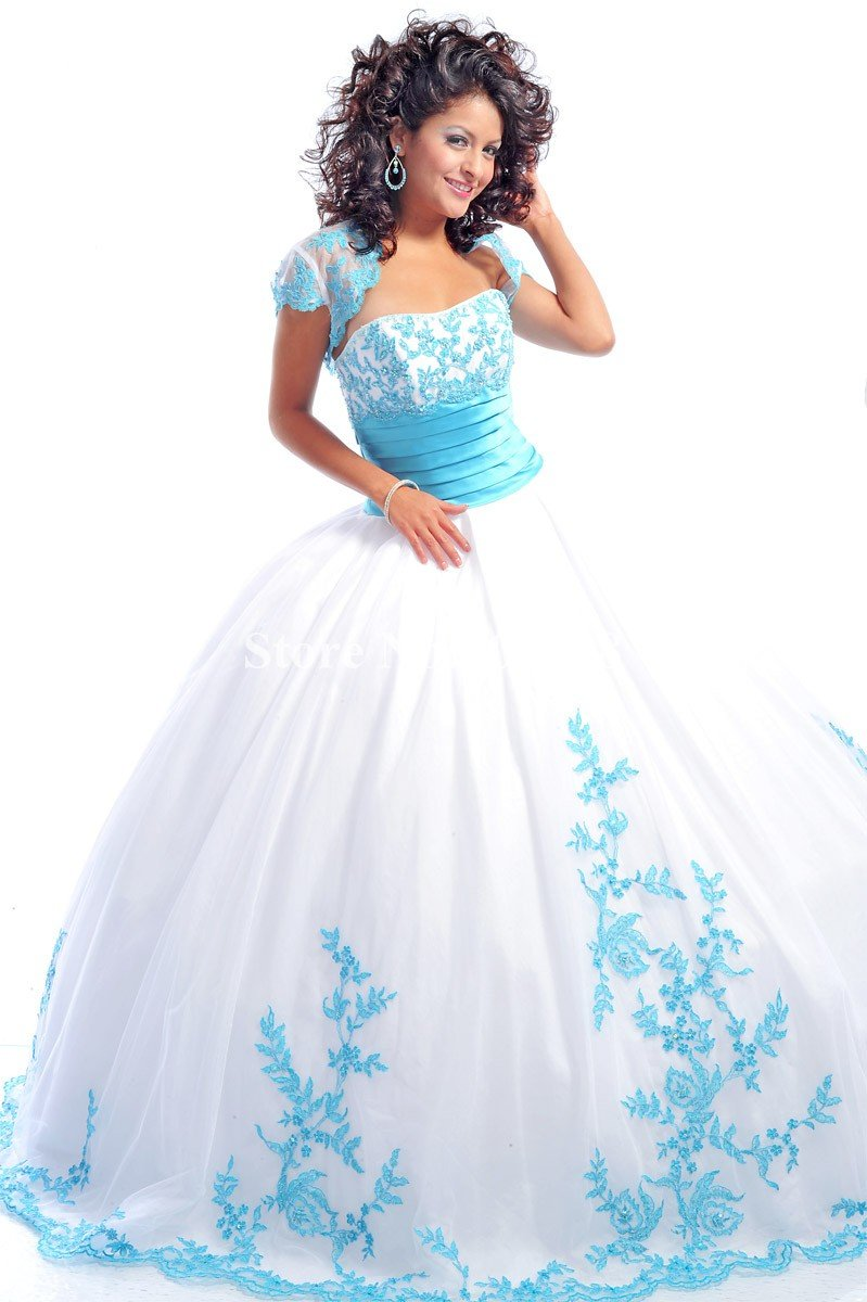 White Quinceanera Dresses | Dressed Up Girl