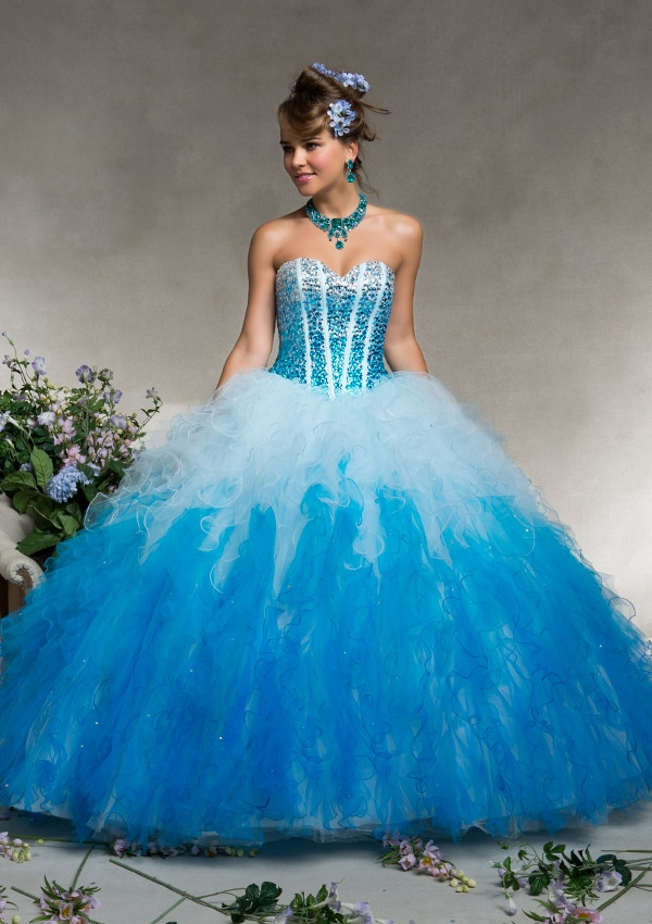 Blue Quinceanera Dresses | Dressed Up Girl