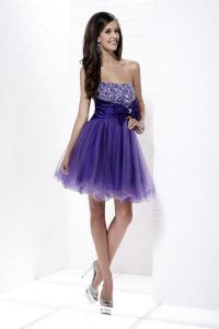 Cocktail Dress Purple