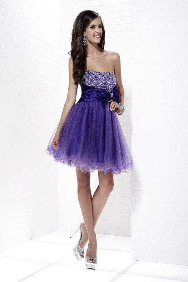 Cocktail Purple Dresses 96