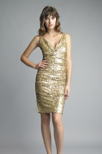 Cocktail Dresses Gold
