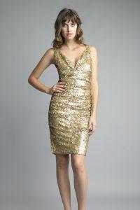 Cocktail Dresses Gold