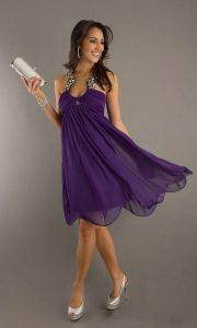 Cocktail Dresses Purple