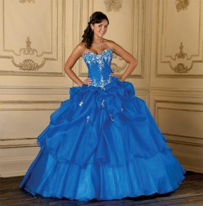 Dark Blue Quinceanera Dresses