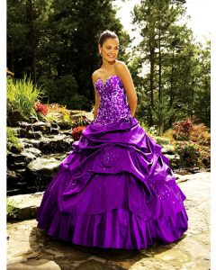 Dark Purple Quinceanera Dresses