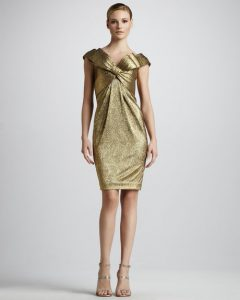 Gold Dress Cocktail