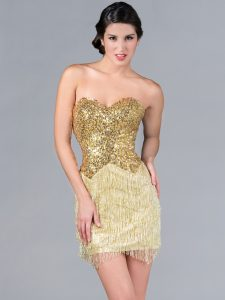 Gold Sequin Cocktail Dresses