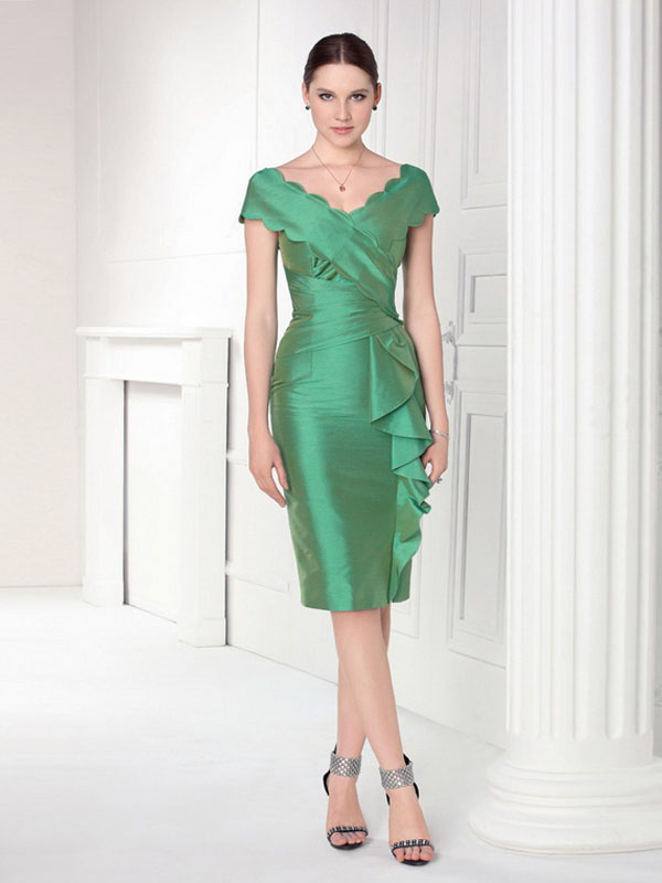 Green Cocktail Dress Picture Collection Dressedupgirl Com