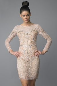 Long Sleeved Cocktail Dresses