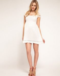 Maternity Dresses White