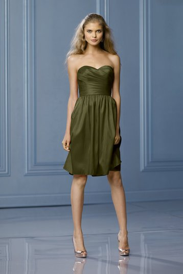green cocktail dress dressed up