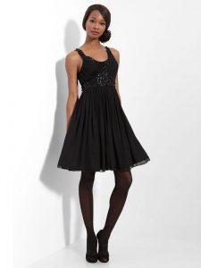 Petite Black Cocktail Dress