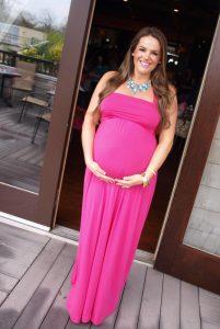 Pink Maxi Dress Maternity