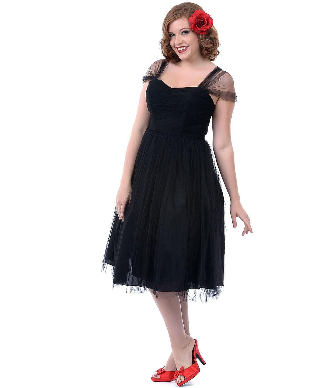 Vintage Plus Size Party Dresses
