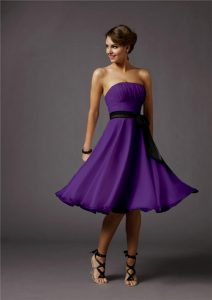 Purple Cocktail Dresses
