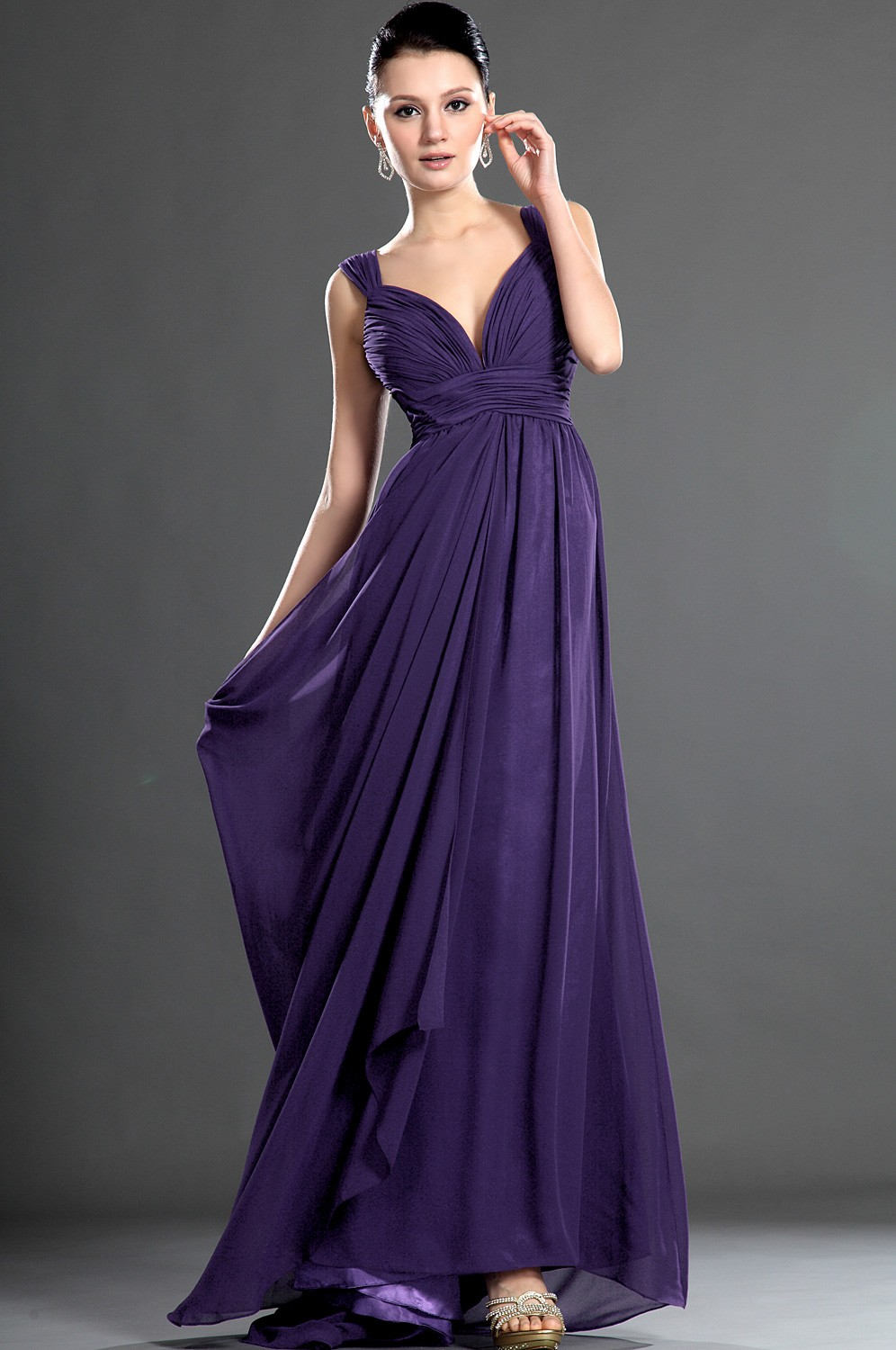 Purple Cocktail Dress Picture Collection | DressedUpGirl.com
