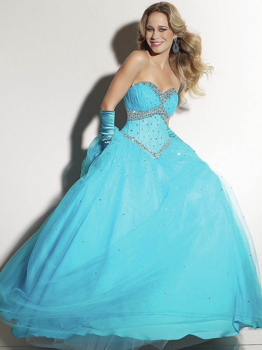 Blue Quinceanera Dresses Picture Collection