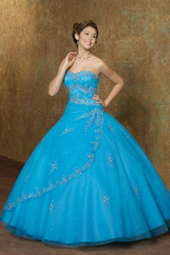 Blue Quinceanera Dresses - Dressed Up Girl