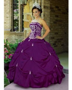 Quinceanera Dresses Purple