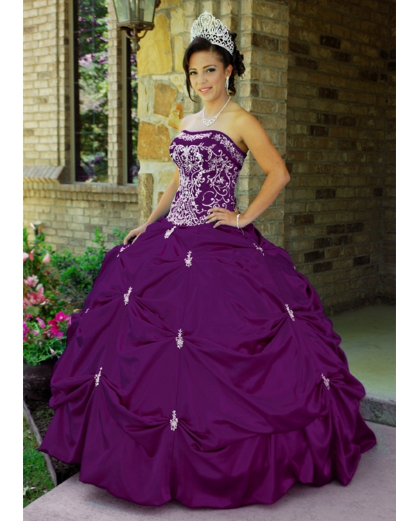 Purple Quinceanera Dresses | Dressed Up Girl